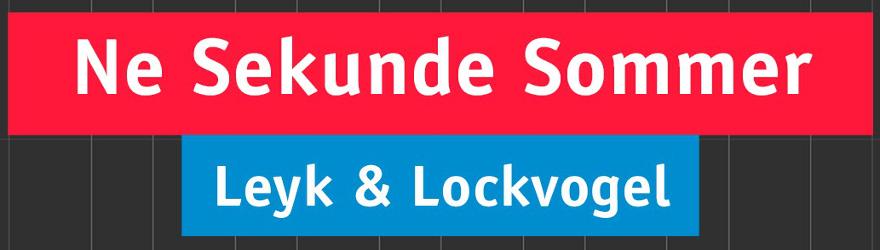 LEYK & LOCKVOGEL - NE SEKUNDE SOMMER