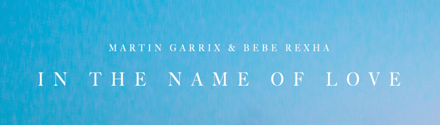 "Martin Garrix feat. Bebe Rexha ""In the Name of Love"" (Official)"
